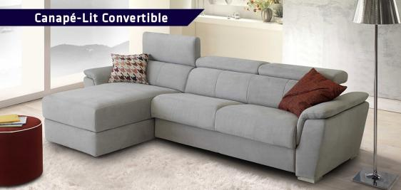 Canapé-Lit convertible Sofabed® INFINITY avec chaise-longue